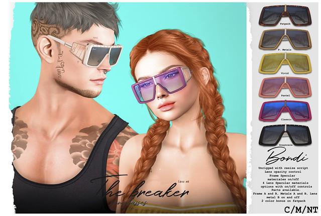 BONDI . The Breaker Sunglasses @Summerfest