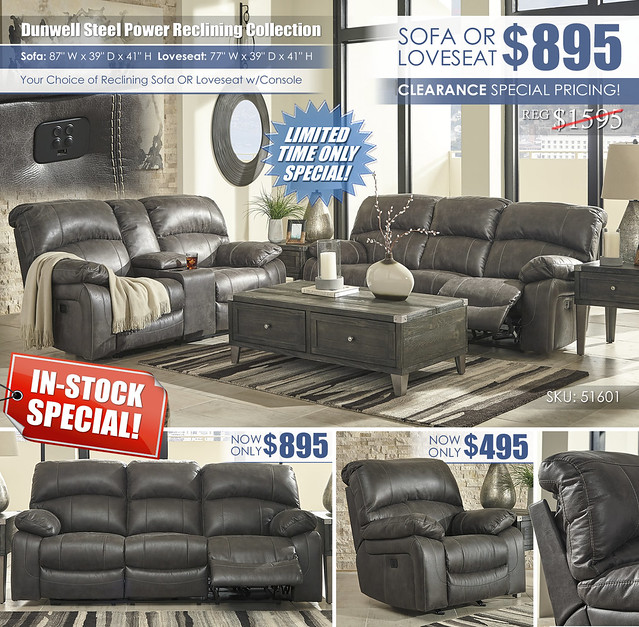 Dunwell Steel Reclining Sofa OR Loveseat_51601_In Stock Tag