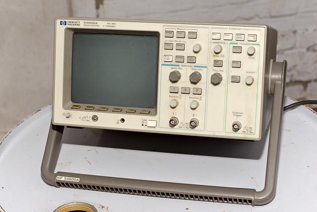 Oscilloscope Hewlett-Packard 54600A 100 MHz