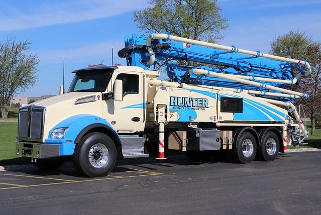 Hunter Concrete Pumping Truck
