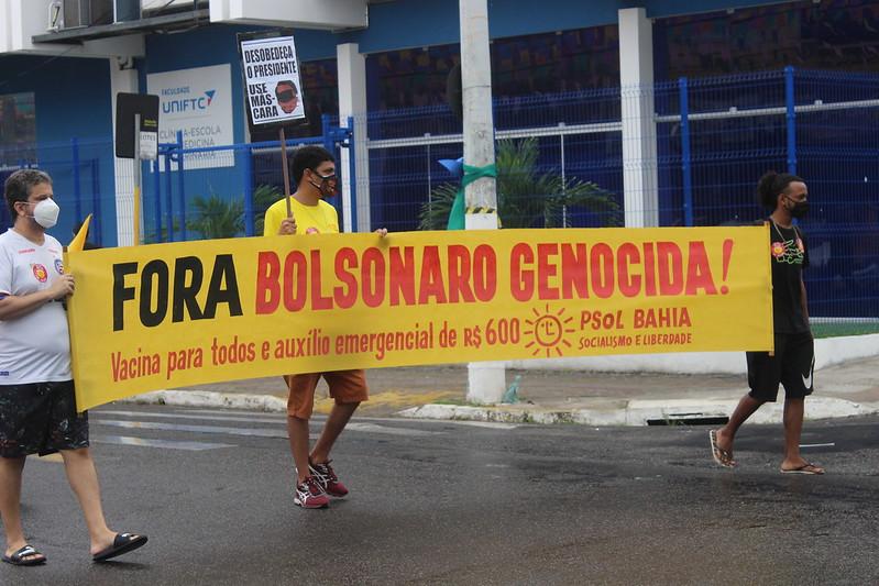 Carreata Fora Bolsonaro - Itabuna - 19/06/2021