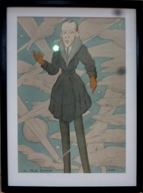 Noel Coward caricature