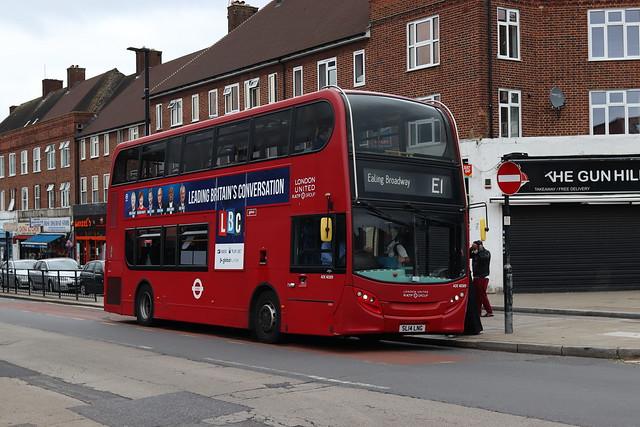 Route E1, London United, ADE40309, SL14LNG
