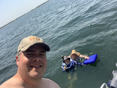 Relaxing Time on the Water and We Are on a Boat