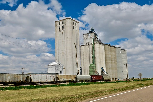 Grain Elevator, Kanorado, KS