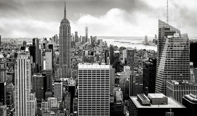 New York Cityscape (monochrome)