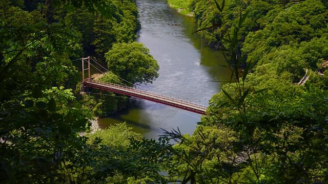 Old small bridge 弁天橋