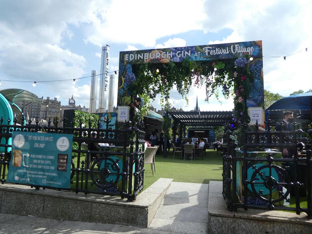 Edinburgh Gin at Festival Village