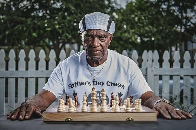 Chess guru, Mr. McCray.