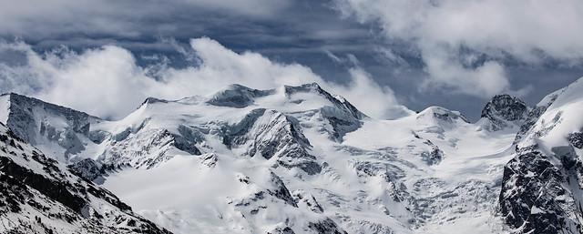 The untouched White.. the  Glacier Morteratsch