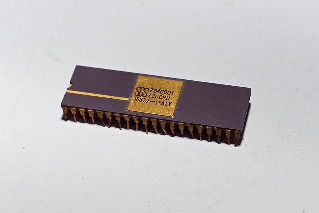 Microprocesseur céramique Z80