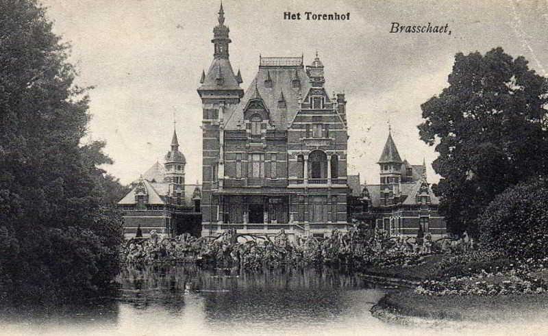 Old Torenhof Castle postcard