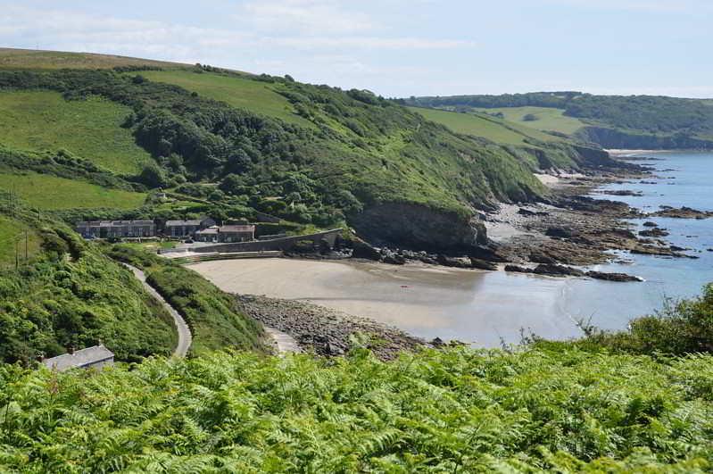 Portholland view beach landscape