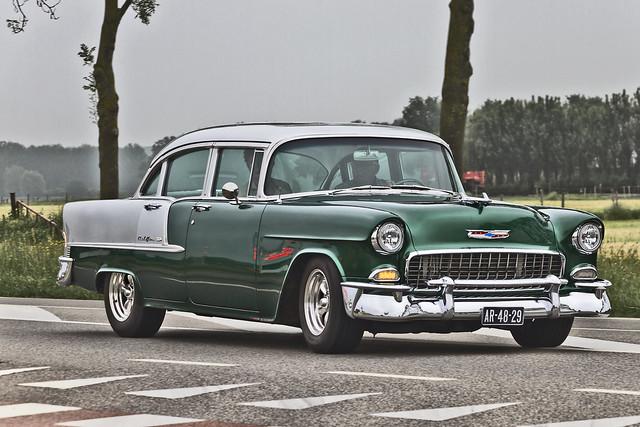 Chevrolet Bel Air Sedan 1955 (2996)