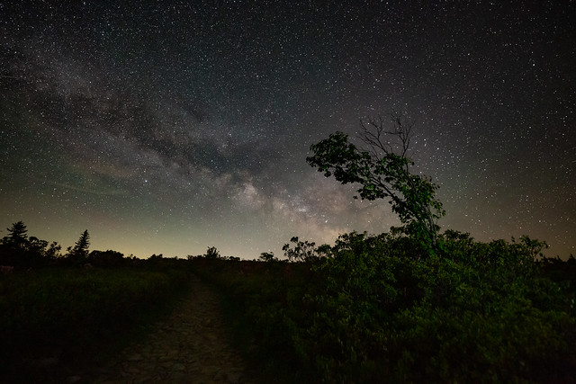 Night in West Virginia