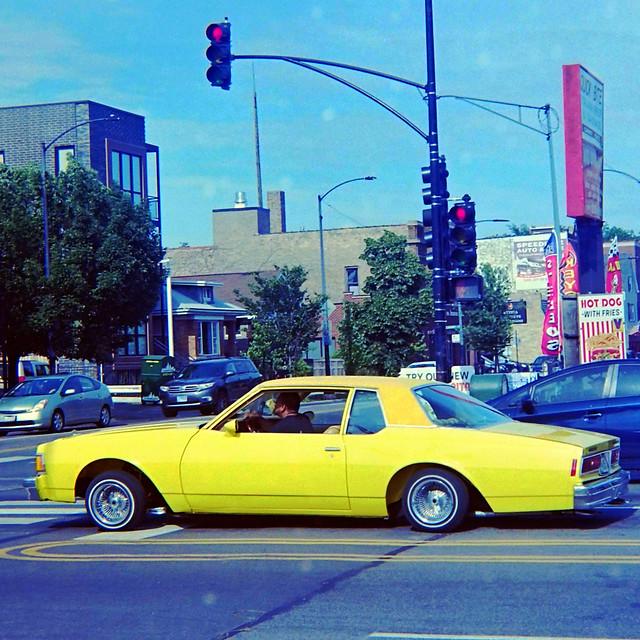 Low rider, Foster & Western, Chicago mustard color scheme