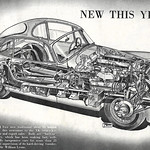 Sat, 2021-06-19 10:47 - The Jaguar XK 150, successor to the XK 140. A fantastic cutaway illustration by S E Porter, taken from 'The Motor', October 1957.