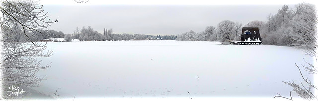 Infinite white as far as the eye can see...