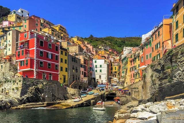 Summer Memories, Cinque Terre, Italy.