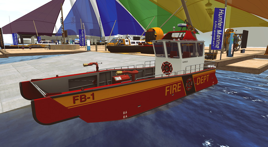 The Hunter LC-01 Fire Fighter Landing Craft at 2021 Summer Sailtice