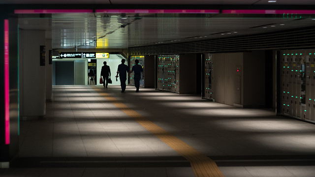 passageway, Tokyo Station, Japan