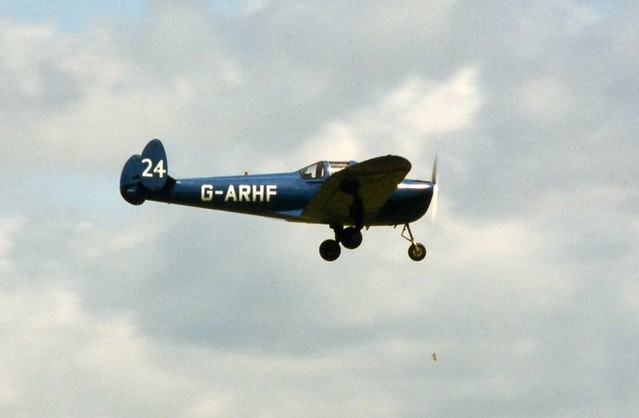 G-ARHF Forney Aircoupe F-1A