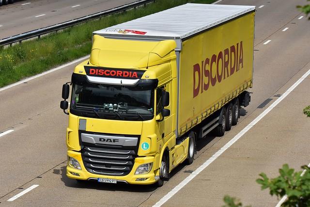 DISCORDIA - CB 5992 PT - DAF FT XF