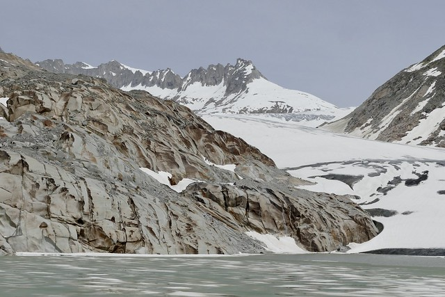 Rhonegletscher Rhône Glacier Glaciar Swiss Alps Switzerland 2021