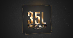 There's Always More To Shop At 35L Sunday Sales!