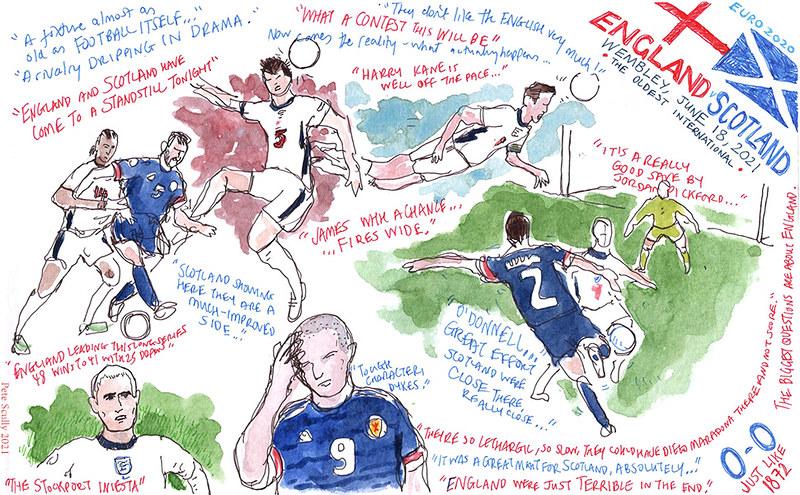Euro 2020 ENG-SCO