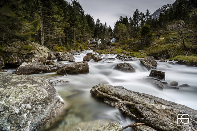 Waterfalls in Cauterets national park #explore