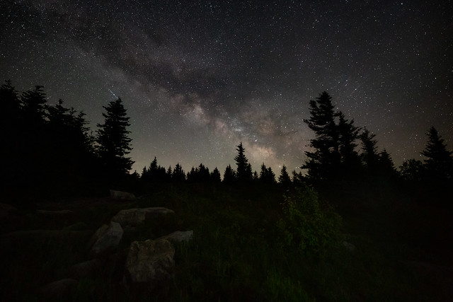 Dolly Sods at Night