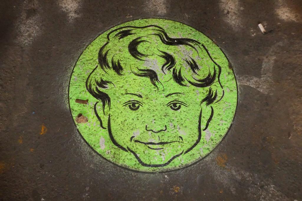 stencil, Leake Street