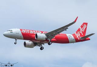 F-WWTY / VT-ATJ Airbus A320-251N Air Asia s/n 10520 - First flight * Toulouse Blagnac 2021 *