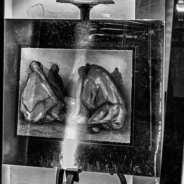 Through the Window:  2021R.C. Gorman Navajo Gallery