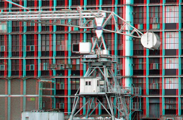 Graanzuiger Rijnhaven Rotterdam 3D