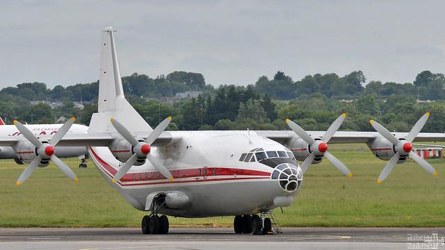 Meridian Aviation 🇺🇦 Antonov An-12BK UR-CAJ