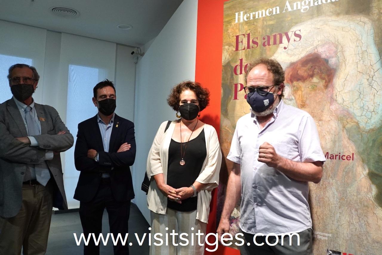 Exposició Hermen Anglada Camarasa. Els anys de París. Can Roca Mora
