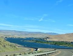 Six Percent Grade Down to the Snake River #abitterrifying #idaho #farewellbend #snakeriver