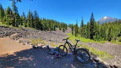 Riding the High Lakes Trail