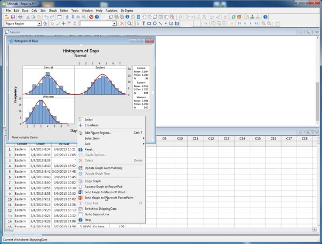Working with Minitab 20.3 full