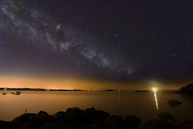 Milky Way at Hasseltangen