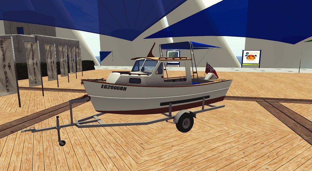 The Harbor Master Boat at 2021 Summer Sailtice