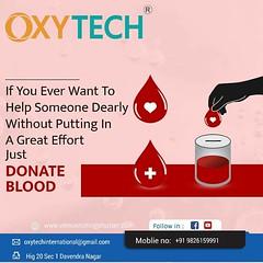 Blood donation oxytech international