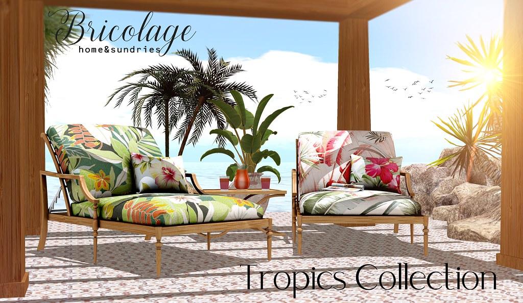 Bricolage Tropics Collection