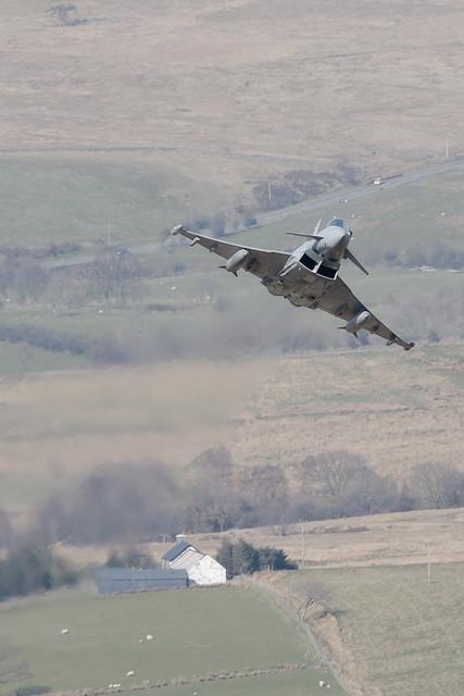11(F)Sqn Typhoon/ZJ942/DH