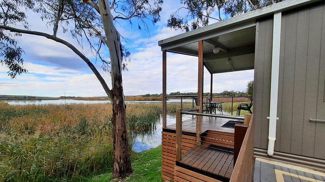 Our riverland retreat.