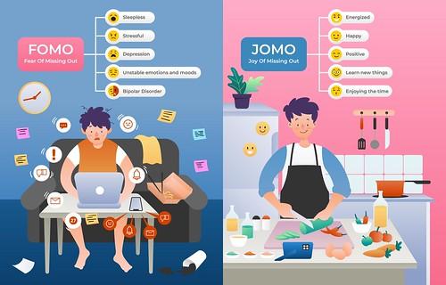 JOMO versus FOMO