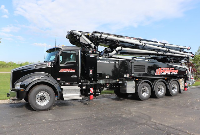 Forest City Concrete Pumping Truck