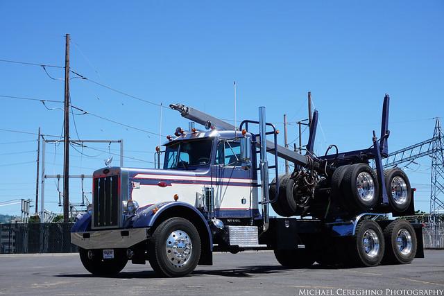 Peterbilt 358A Log Truck